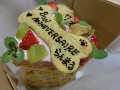 犬用バースデーケーキ