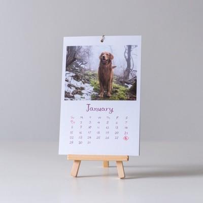 犬のカレンダー