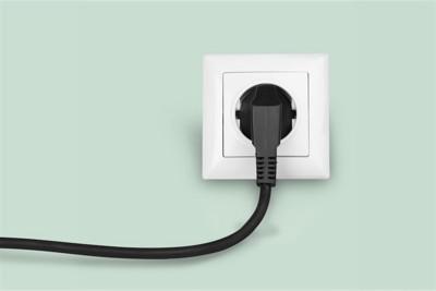 コンセントと電源コード