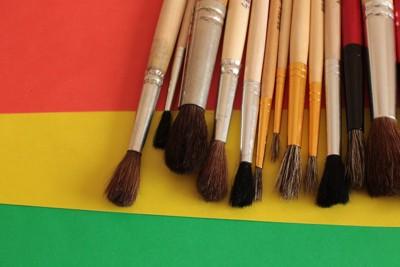 様々な種類の筆