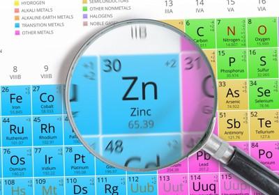 亜鉛の化学式