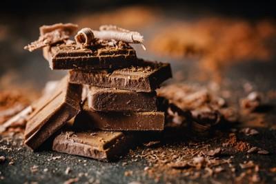 重ねられたチョコレート