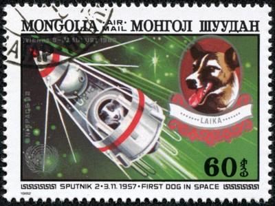 ライカの切手