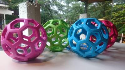 4色のホーリーローラーボール