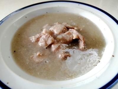 出来上がりのスープ写真