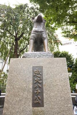 JR渋谷駅(忠犬ハチ公)