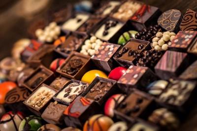 様々な種類のチョコレート