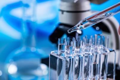 研究室の顕微鏡や試験管
