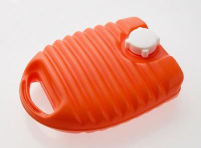 オレンジの湯たんぽ