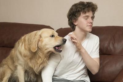 吠える犬と拒絶する人