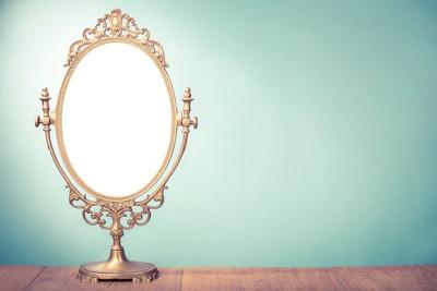 クラシカルな鏡