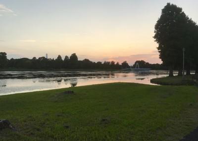 夕方にも美しい景色が