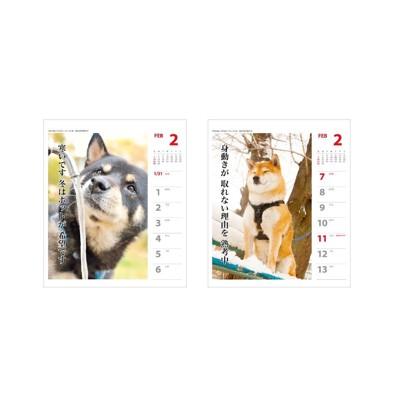 犬川柳カレンダー2ページ