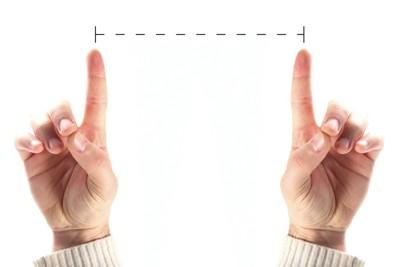 距離を示す指