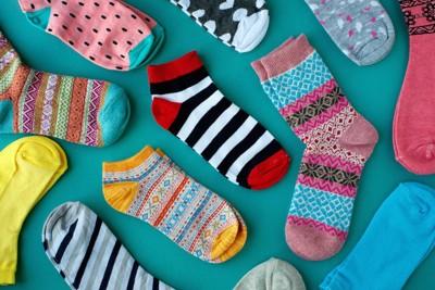 様々な種類の靴下