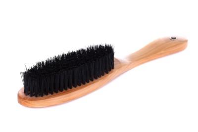 黒い毛の獣毛ブラシ