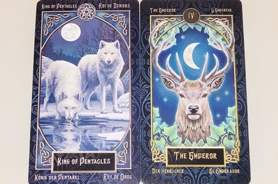 KING OF PENTACLES/THE EMPEROR