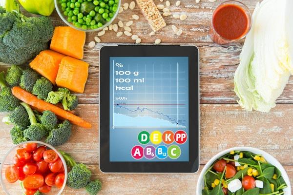 カロリー計算と野菜