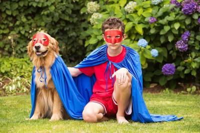 スーパーマンとスーパードッグ