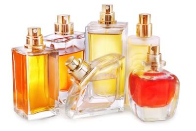 いろいろな種類の香水