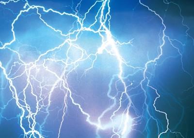 電気の写真