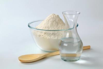 小麦粉と水
