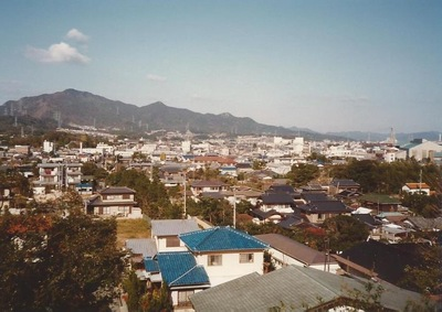 日本の家並み