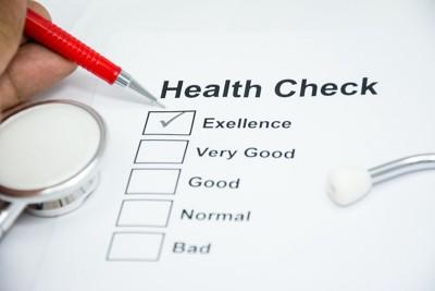 健康のチェックリスト