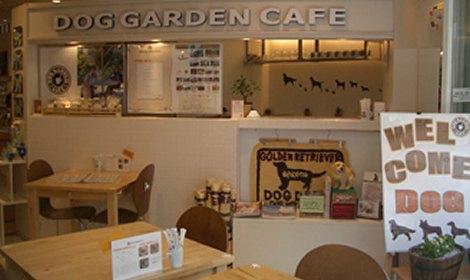 ドッグガーデンカフェ 店内写真