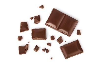 大きさが異なるチョコレート