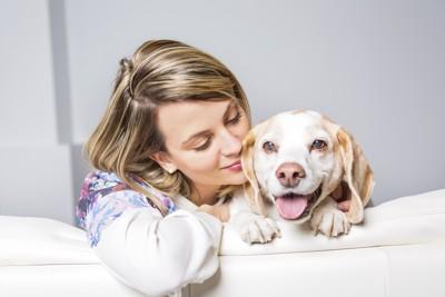 飼い主と愛犬