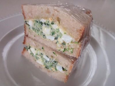 サンドイッチの断面