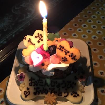 エマさん1歳の誕生日ケーキ