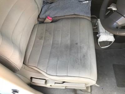 車のシート ビフォー