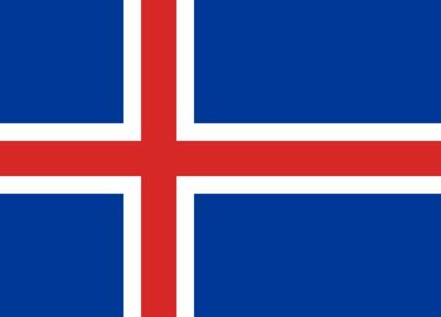 アイスランドのフラグ