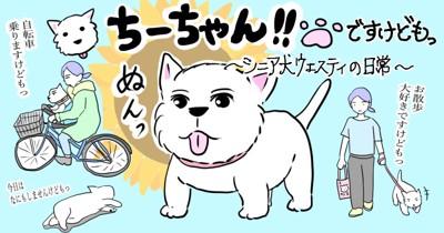 ちーちゃんブログヘッダー画面