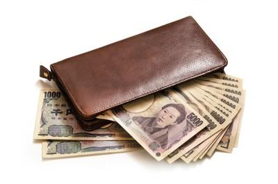 お札が入ったお財布