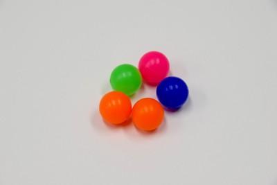 集められた5つのスーパーボール