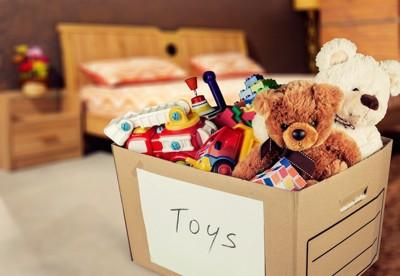 おもちゃの収納箱