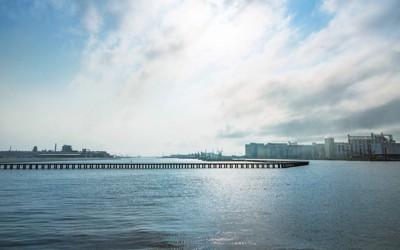 石巻工業港の風景