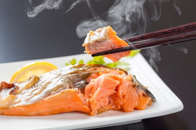 鮭の塩焼き