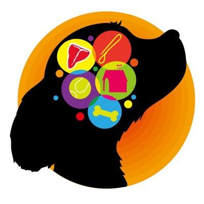 犬の脳内のイラスト