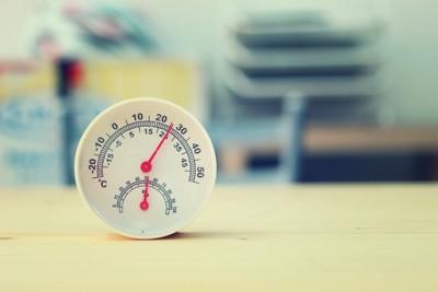 部屋の温湿度計