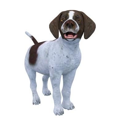 CGで描かれた犬