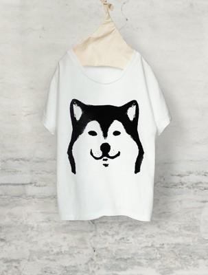 柴犬 ドルマンTシャツ