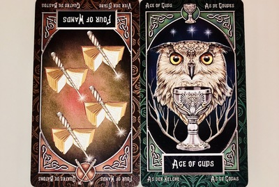 FOURofWANDS/ACEofCUPS