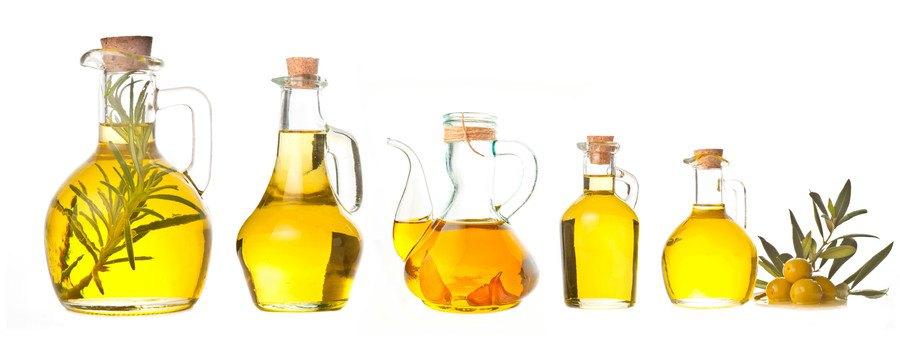 いろんな種類の油