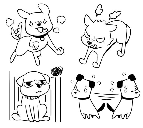 子犬が興奮する様々な理由